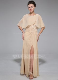 Mother of the Bride Dresses - $129.99 - A-Line/Princess One-Shoulder Floor-Length Chiffon Mother of the Bride Dress With Ruffle Beading Sequins Split Front (008042329) http://jjshouse.com/A-Line-Princess-One-Shoulder-Floor-Length-Chiffon-Mother-Of-The-Bride-Dress-With-Ruffle-Beading-Sequins-Split-Front-008042329-g42329