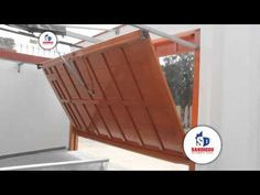 Puerta Automatica Basculante no desbordante. Puertas Cifuentes - YouTube Window Security, Pergolas For Sale, Sliding Gate, Shutter Doors, Driveway Gate, Pergola With Roof, Folding Doors, Steel Doors, Diy Home Crafts