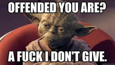 I would like to bring your attention to the best collection of funny Star Wars memes you have ever seen. If you like it, share these funny Star Wars meme pictures with your friends. Funny Shit, Yoda Funny, Funny Stuff, Yoda Meme, Nerd Stuff, Random Stuff, War Quotes, Funny Quotes, Funny Memes