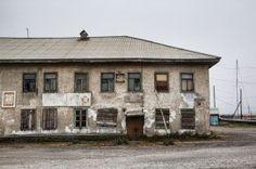 Russian Far East Lavrentiya - abandoned