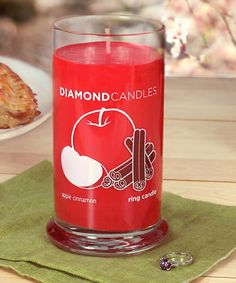 Look at this Apple Cinnamon Ring Candle on #zulily today!