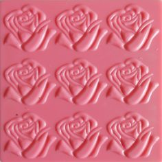 Roses Texture Plates by Creaticca Studio. Use them on pewter, creative craft metal, paper, clay and walls. Available at Creaticca Studio. 12.5 x 12.5cm.  Available at www.creaticcastudio.co.za