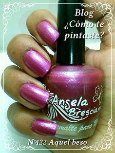 Colección Otoño-Invierno Angela Bresciano #swatches #nails #uñas #comotepintaste #esmaltes #polish #pink #rosa #angelabresciano