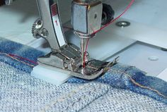 How to sew over bulky seams