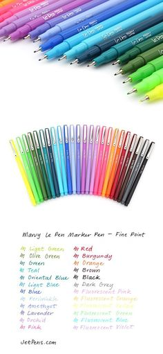 Use these pens for doodling, color-coding, or adding a boost of color to busines… – Handwerk und Basteln Doodle Drawing, Diy Pencil Case, Pencil Cases, School Suplies, Back To School Supplies, College Supplies, Office Supplies, Jet Pens, Marker Pen