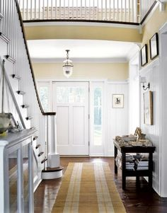 Traditional + modern Looks clean and fresh