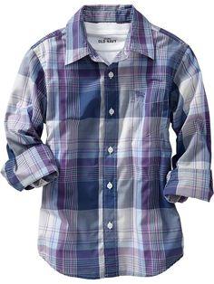 Old Navy | Boys Long-Sleeve Shirts