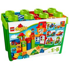 BARGAIN LEGO Duplo Deluxe Box of fun was £34.97 NOW £24.97 at ASDA Direct - Gratisfaction UK