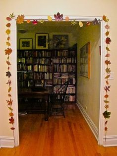 Upper West Side Mom: A (Jewish) Parenting, Cooking and Crafting Blog: Fall Leaves Garland
