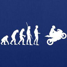 Tee shirt Moto Evolution | Spreadshirt