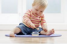 Ideas for playing with a 10 month old. For other ages go to: eHow Parenting Children by Age