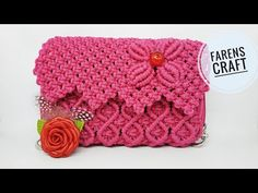 Macrame Design, Macrame Art, Macrame Knots, Arts And Crafts, Diy Crafts, Macrame Tutorial, Macrame Patterns, Crochet Handbags, Craft Work