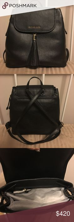 Bedford drawstring backpack Brand new, NWT backpack. Purchased this at Michael Kors for $428, but I have no use for it. Trying to make back what I lost! Michael Kors Bags Backpacks