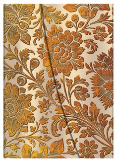 Honey Bloom, from Paperblanks' Brocaded Paper collection of writing journals