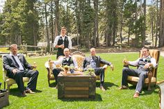 Outdoor Lake Tahoe Wedding from Orange Turtle Ruffled