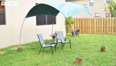 DIY Backyard Sunshade