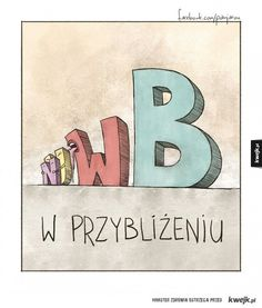 Alfabet według Jarońskiego Everything And Nothing, Smile Everyday, Funny Comics, Pranks, Have Time, Lol, Humor, Cool Stuff, Words