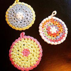 Presine #potholder #presina #crochet #uncinetto #handmade #hobby #homemade #fattoamano #fiocchidicotone