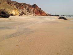 Roche sable mer Popenguine Sénégal