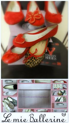 #lemieballerine red passion Italian Shoes, Falling In Love, Passion, Fashion Styles