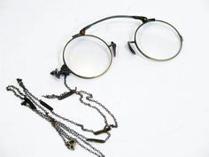 I have a fascination with Lorgnettes, Pince Nez. This one is really nice.