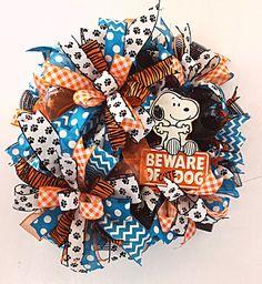 Dog Wreath, Spring Wreath, Live Love Rescue, Rescue Wreath, Pet Wreath, Door Hanger, Front Door Wreath - ready to ship
