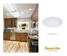 Combina tonalidades luz de día y cálida para iluminar tu cocina con nuestro modelo BUCARAMANGA.