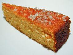 Gâteau à l'orange et au gingembre sans farine Recette