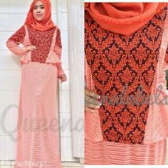 New Tracy Dress by queenalabels (allsize, 4 warna) Bahan Wafer Motif + Lifia Stripes , furing jersey ;) @265
