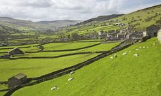 The glorious Dales: Gunnerside village, Swaledale, Yorkshire. Photograph: Alamy