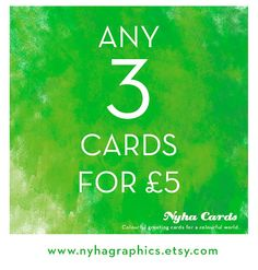 Choose Any 3 Cards  #Multicultural Greeting Cards Pack by nyhagraphics on Etsy, £5.00