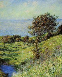Coup de vent (C Monet - W 688),1881.