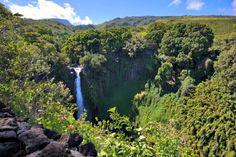 Maui Hawaii Waterfall. www.aloha-hawaiian.com #hawaii #maui #mauihawaii #mauihiking #mauiallinclusive