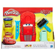 Play-Doh Disney Pixar Cars Lightning McQueen,