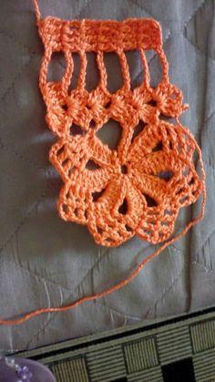 Crochet Boarders, Crochet Edging Patterns, Crochet Bikini Pattern, Crochet Lace Edging, Crochet Patterns Amigurumi, Crochet Stitches, Crochet Strawberry, Needlepoint, Free Pattern
