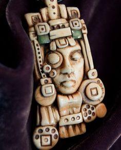 Оригинальные предметы интерьера и бижутерия с лицом :) Вдохновляйтесь! А для работы с полимерной глиной можно использовать силиконовую форму.