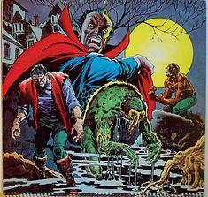browsethestacks:  Marvel Calendar October 1975 Frankenstein,...