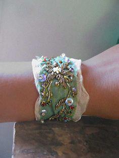 silk chiffon bracelet | Flickr