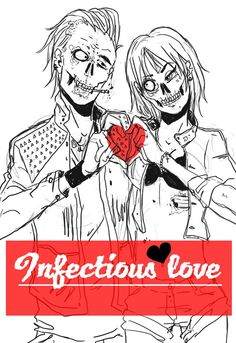 Infectious love. #Zombie