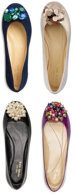 Kate Spade flats. Why aren't any of these pairs already in my closest?