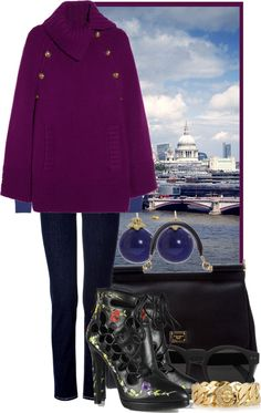 """""""The Modern Cape"""" by ssquared on Polyvore"""