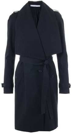 Givenchy Trench Coat in Black