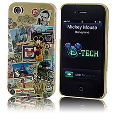 Nostalgic Walt Disney World iPhone 4 Case... Although this one is cool too!