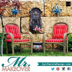 MR. MAKEOVER • Outdoor Decor • Spring Style by #LifestyleDesign http://byLifestyleDesign.com #Home #Decor #Outdoors #Chandelier