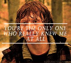 Romione [gif] You're the only one who really knew me at all