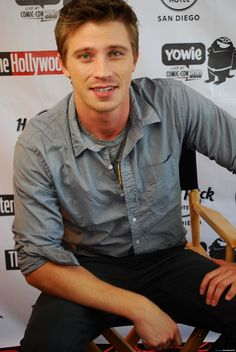 In this handout photo provided by Rock Star Media, Garrett Hedlund attends the Rock Star Media Lounge during Comic-Con 2010 at Hard Rock Hotel San Diego on July 2010 in San Diego, California. (Photo by Handout/Getty Images North America) Garrett Hedlund, San Diego, Hard Rock Hotel, Kirsten Dunst, The Hollywood Reporter, White Boys, My Boyfriend, Cute Guys, Gorgeous Men