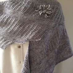 """This is simply gorgeous!  """"It's Your Style - a Tunisian Crochet Shawl"""" by Teri DiLibero"""