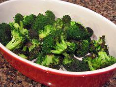 Blasted Broccoli - Stove Top Version