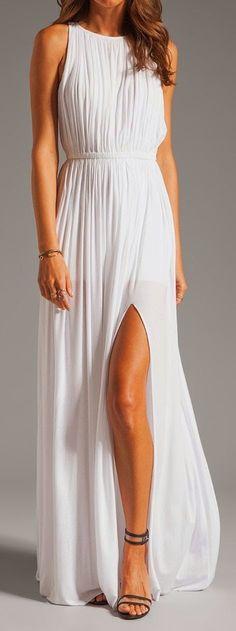 Revolve Clothing White Sen Flaviana Dress