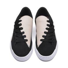 Puma Basket Crush Paris Women's Sneakers Women, Size: Silver Gray-Puma Black Hot Shoes, Women's Shoes, Shoes Style, Shoes Sneakers, Casual Shoes, Sneakers Women, Casual Sneakers, Cute Womens Shoes, Shoes 2018